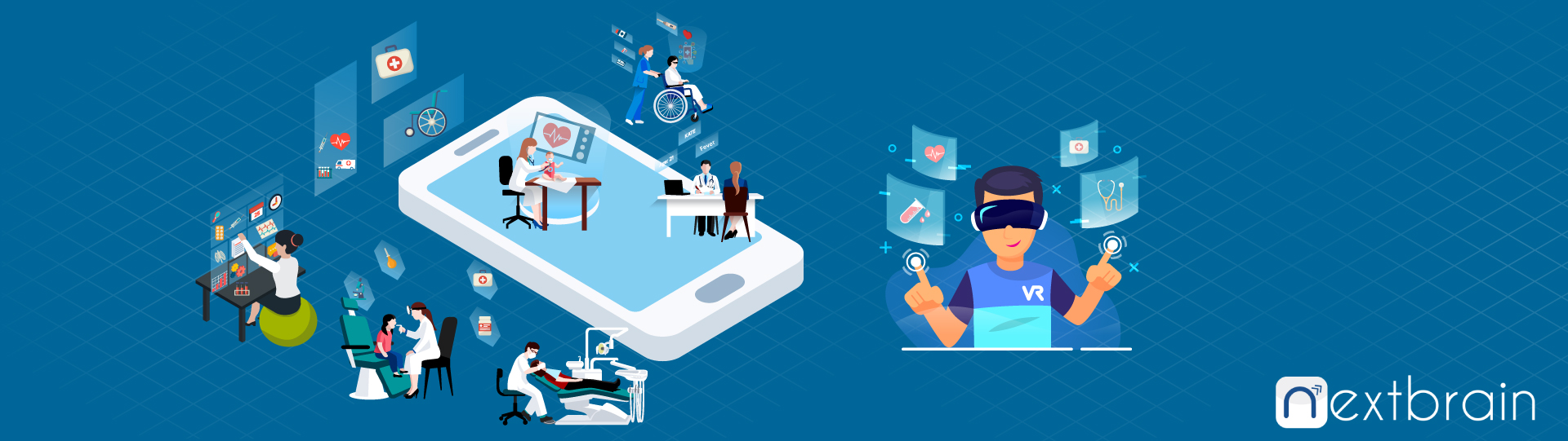 Healthcare App Development With Virtual Reality (VR): A Boon To The Healthcare Sector