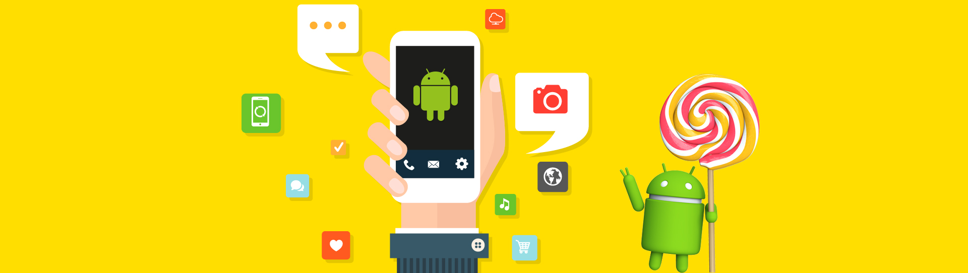 Some main benefits of Android application development