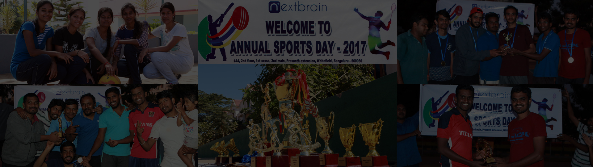 Annual sports day celebration in Nextbrain Technologies