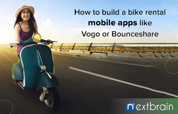 How much does it cost to build a bike rental mobile apps like Vogo or Bounceshare?