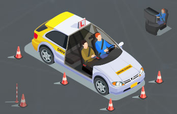 How to build the driving school management software?