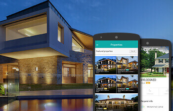 Reales WP theme native iPhone and Android application to real estate property listing business