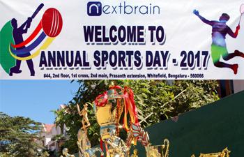 Annual sports day celebration in Nextbrain Technologies