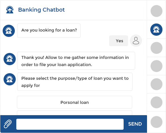 Banking chatbot development