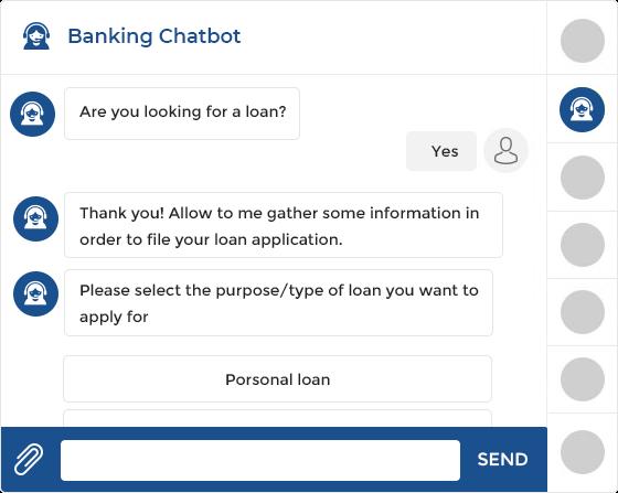 Banking chatbot development