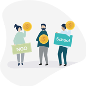 Helping Individuals,& Schools &amo; NGOs
