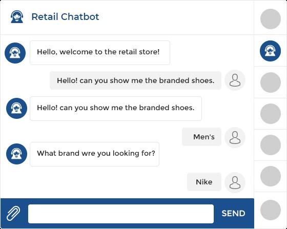 Retail chatbot Development