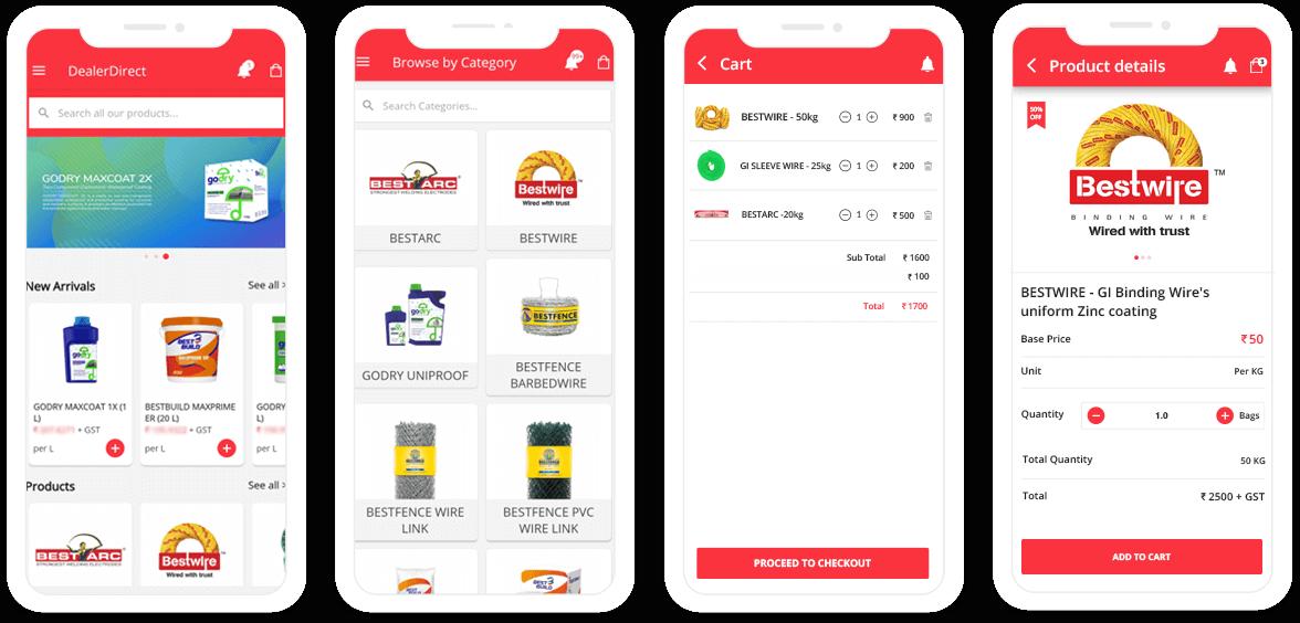 VNC user app design