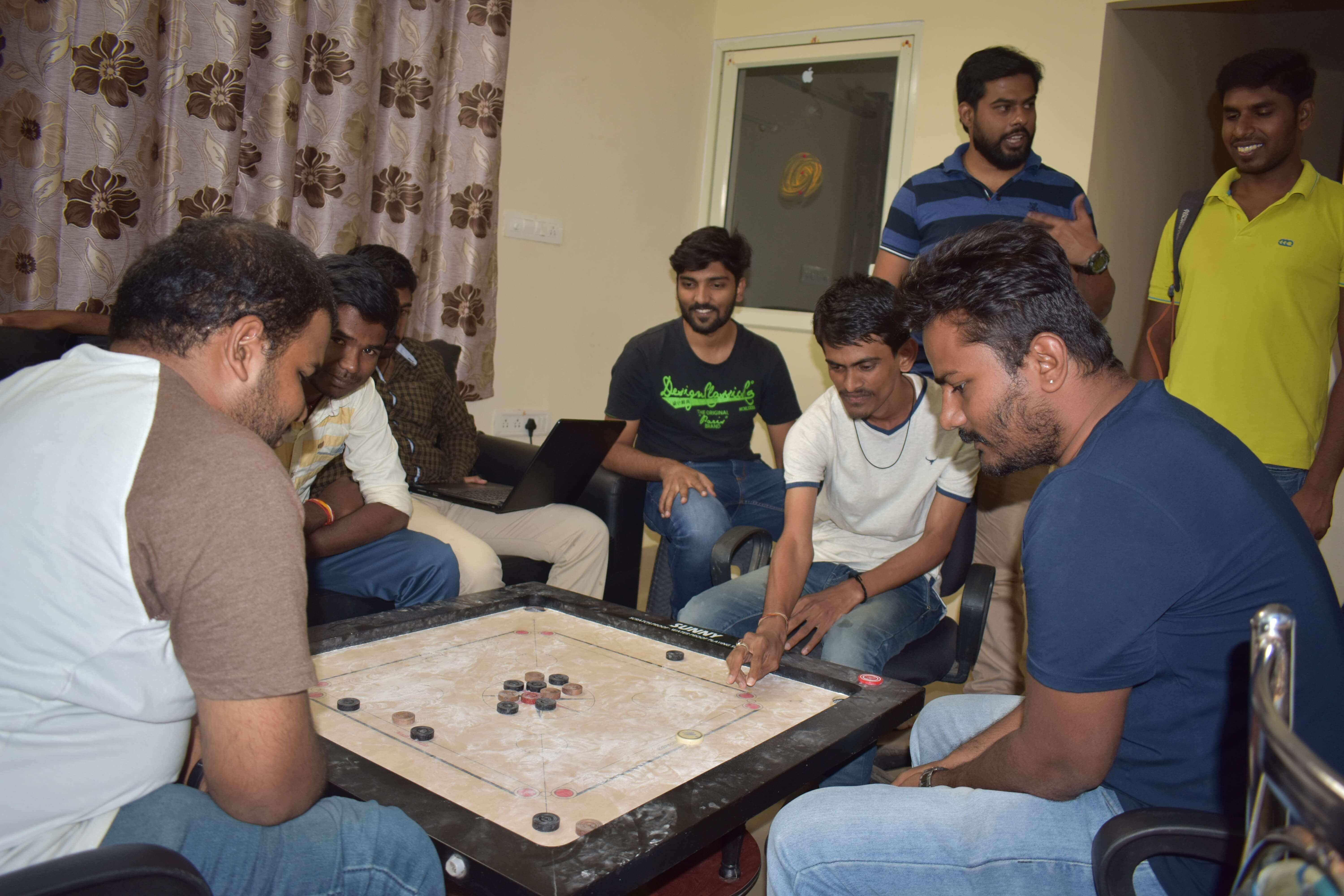 carrom game doubles