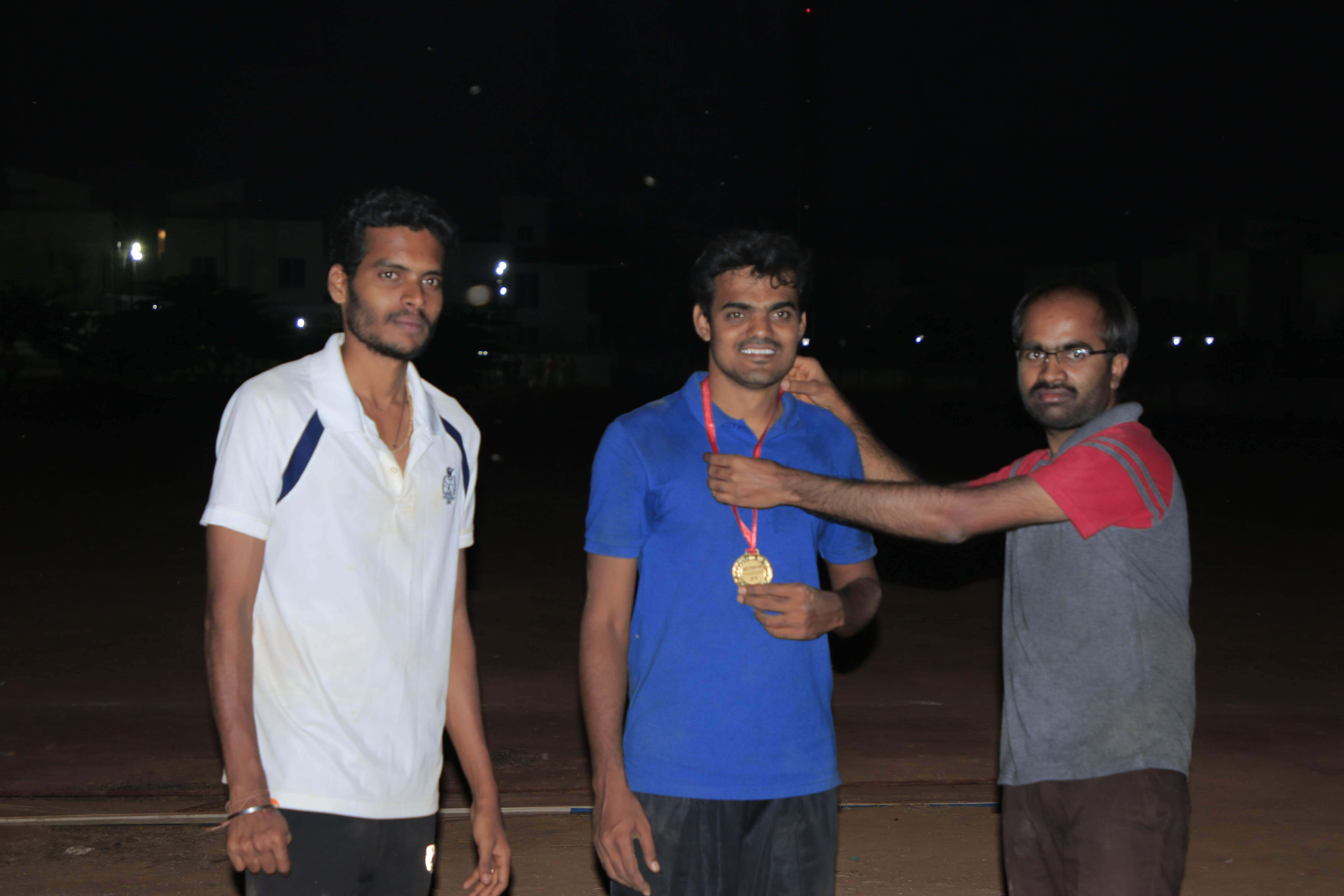 Carrom doubles winner