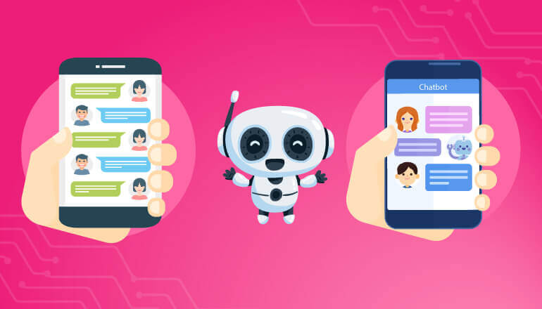 Chatbots with Mobile apps