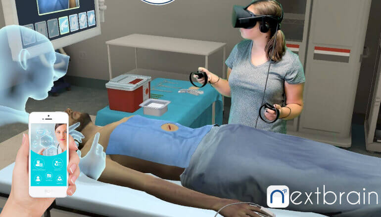 virtual reality with health care