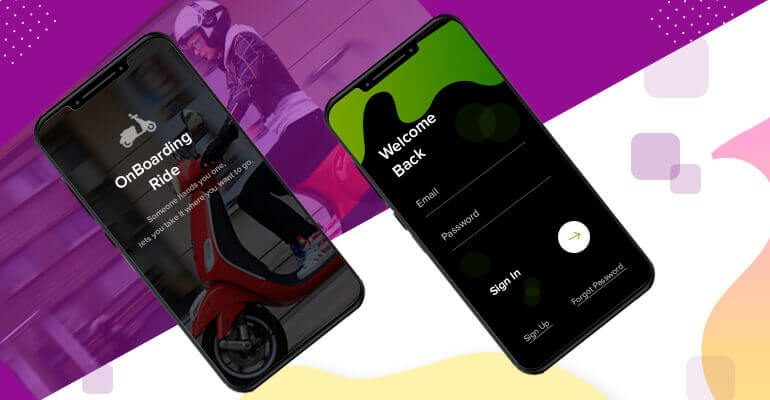 Scooter rental agents app